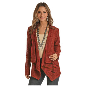 Rock and Roll Cowgirl Women's Lace Cardigan