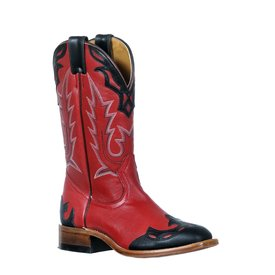 Boulet Women's Red Western Boots C4