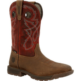 Rocky Legacy Steel Toe Red Work Boot