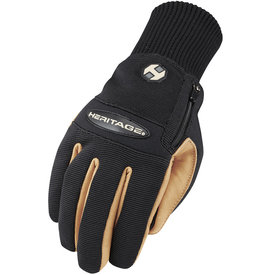 Heritage Winter Work Glove Black/Tan