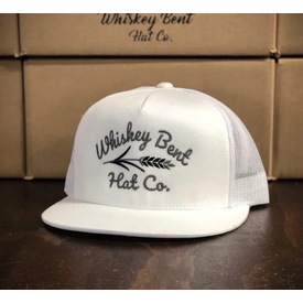 Whiskey Bent Hat Co White Lightning Cap
