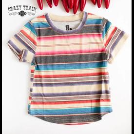 Crazy Train Kids Vagabond Striped Tee