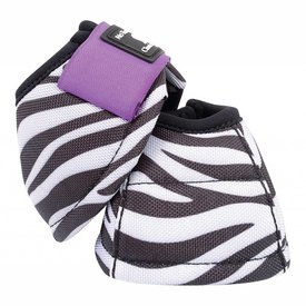 Classic Equine Dy-No Turn DL Bell Pattern Zebra Purple C3