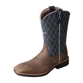 Twisted X Children's/Youth's Square Toe Boot Size 1 C3