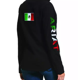 Ariat Kid's Mexico Team Softshell Water Resistant Jacket