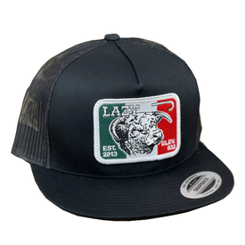 Lazy J Ranch Wear Mexican Flag Cow Cap