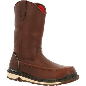 Rocky Men's Rams Horn Waterproof Composite Toe Work Wedge Boot