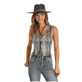 Panhandle Women's Snakeskin Bodysuit