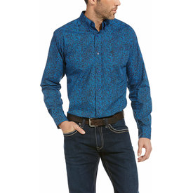 Ariat Men's Railey Fitted Button Down Shirt