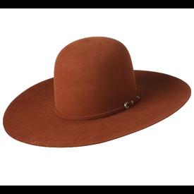 Rodeo King 7X Rust Felt Hat C3 Size 7 1/2