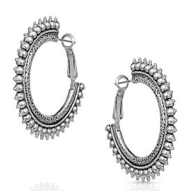 Montana Silversmiths Sun Ray Hoop Earrings