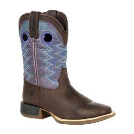 Durango Youth's Lil' Rebel Pro Amethyst Western Boot