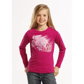 Rock and Roll Cowgirl Girl's Rock & Roll Cowgirl T-Shirt #G4T8450