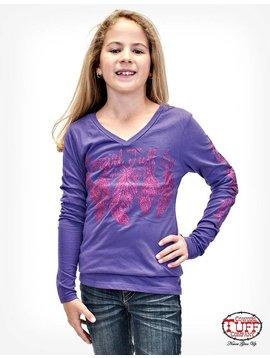 Cowgirl Tuff Girl's Cowgirl Tuff T-Shirt S00592