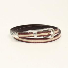 3D Belt Co American Flag Hatband