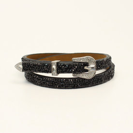 3D Belt Co Black Hatband