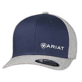 Ariat Men's Navy and Grey Cap with Embroidered Logo