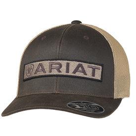 Ariat Men's Brown Logo Patch Cap