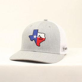 Ariat Men's Grey Cap with Texas Patch