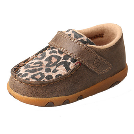 Twisted X Infant's Leopard Driving Moc