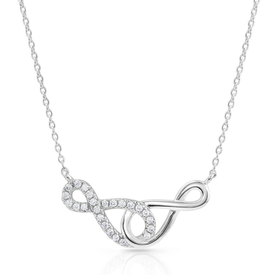 Montana Silversmiths Infinity Times Infinity Necklace