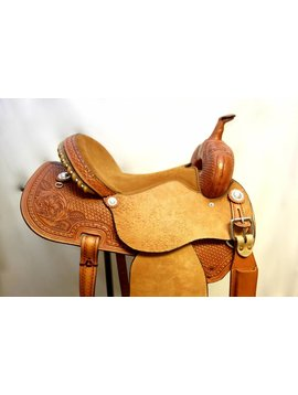 """Courts COURTS EXTREME ROUGHOUT BARREL SADDLE 15"""""""