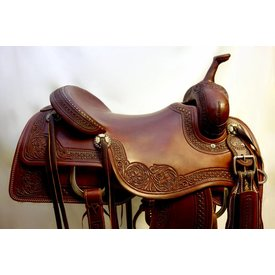 Sulfur River Sulfur River Cutting Saddle 17""