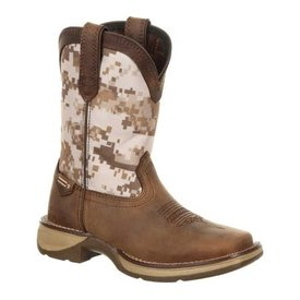 Durango Youth Dusty Brown Camo Boot