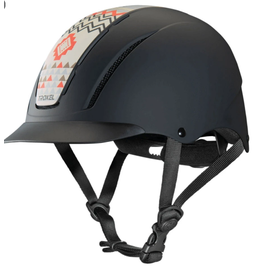 Troxel Crimson Aztec Helmet Size XS