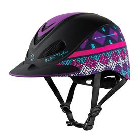Troxel Fallon Taylor Purple Geo Helmet Size Med