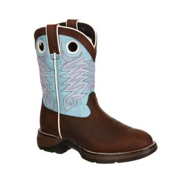 Durango Children's Raindrop Blue Boot C4