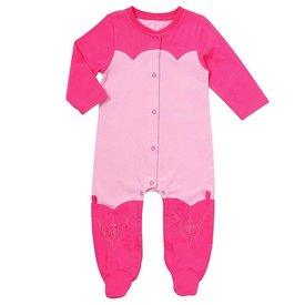 Wrangler Infant's All Around Baby by Wrangler Romper PQK755K