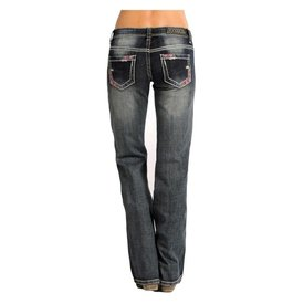 Rock and Roll Cowgirl Women's Rock & Roll Cowgirl Jean W7-4504 C5