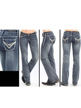 Rock and Roll Cowgirl Women's Rock & Roll Cowgirl Riding Jean W7-3643 C5