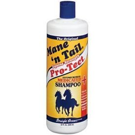 Straight Arrow MANE 'N TAIL PRO TECT MEDICATED SHAMPOO 32OZ 12554401