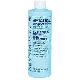 Veterinary Betadine Surgical Scrub 16oz