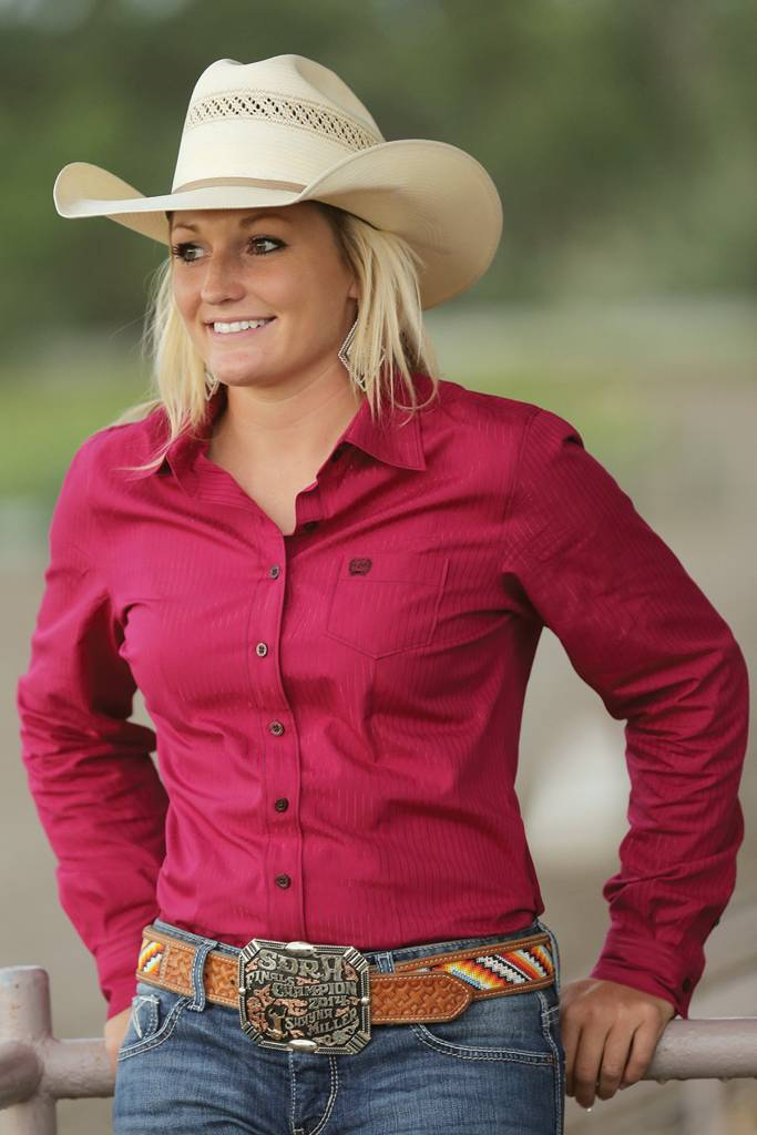 d7c440267d91f5 Cinch Women's Cinch Button Down Shirt MSW9164019-RED | Corral ...