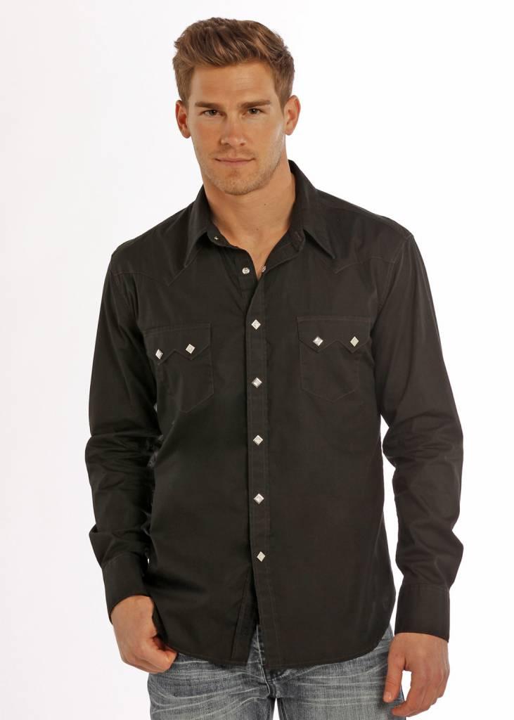 dbf381a9 ROCK&ROLL COWBOY Men's Rock & Roll Cowboy Snap Front Shirt B2S9063 ...