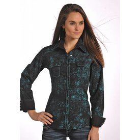 Panhandle Women's 90 Proof Snap Front Shirt V8S4828 C3