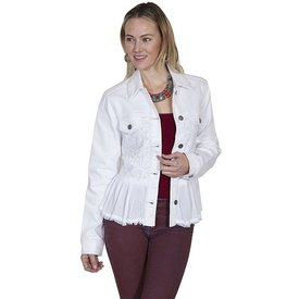 Scully Women's Scully Denim Lace Jacket HC306 C4  Small