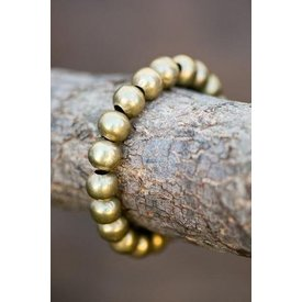 West & Co. Golden Beads Stretch Bracelet