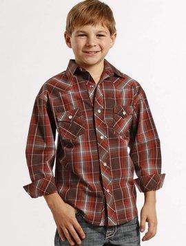 3168af90 Boy's Rock & Roll Cowboy Snap Front Shirt B8S8424