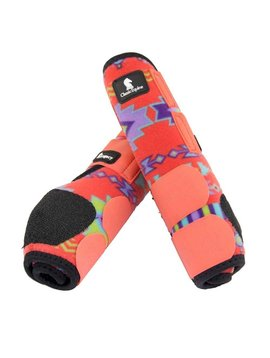 Classic Equine CORAL SOUTHWEST LEGACY SYSTEM FRONT SPLINT BOOTS