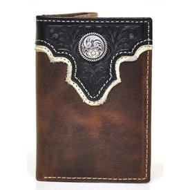 Ariat Men's Ariat Tri-Fold Wallet A35106129