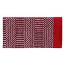 American Heritage Equine Double Weave Red Black Navajo Pad