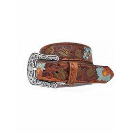Ariat Women's Painted Floral Belt
