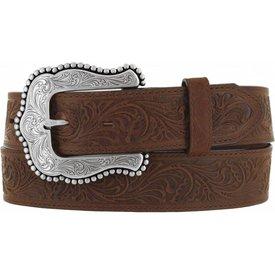 Tony Lama Women's Layla Embossed Belt