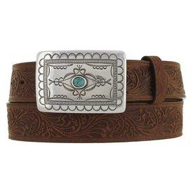 Tony Lama Women's Navajo Spirit Brown Belt