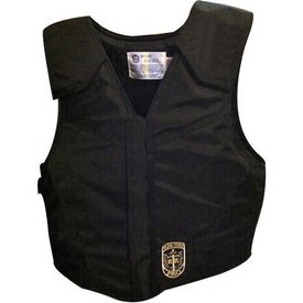 Ride Right Black Polyduck Protective Vest