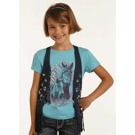 Rock and Roll Cowgirl Girl's Rock & Roll Cowgirl Vest G3V2639